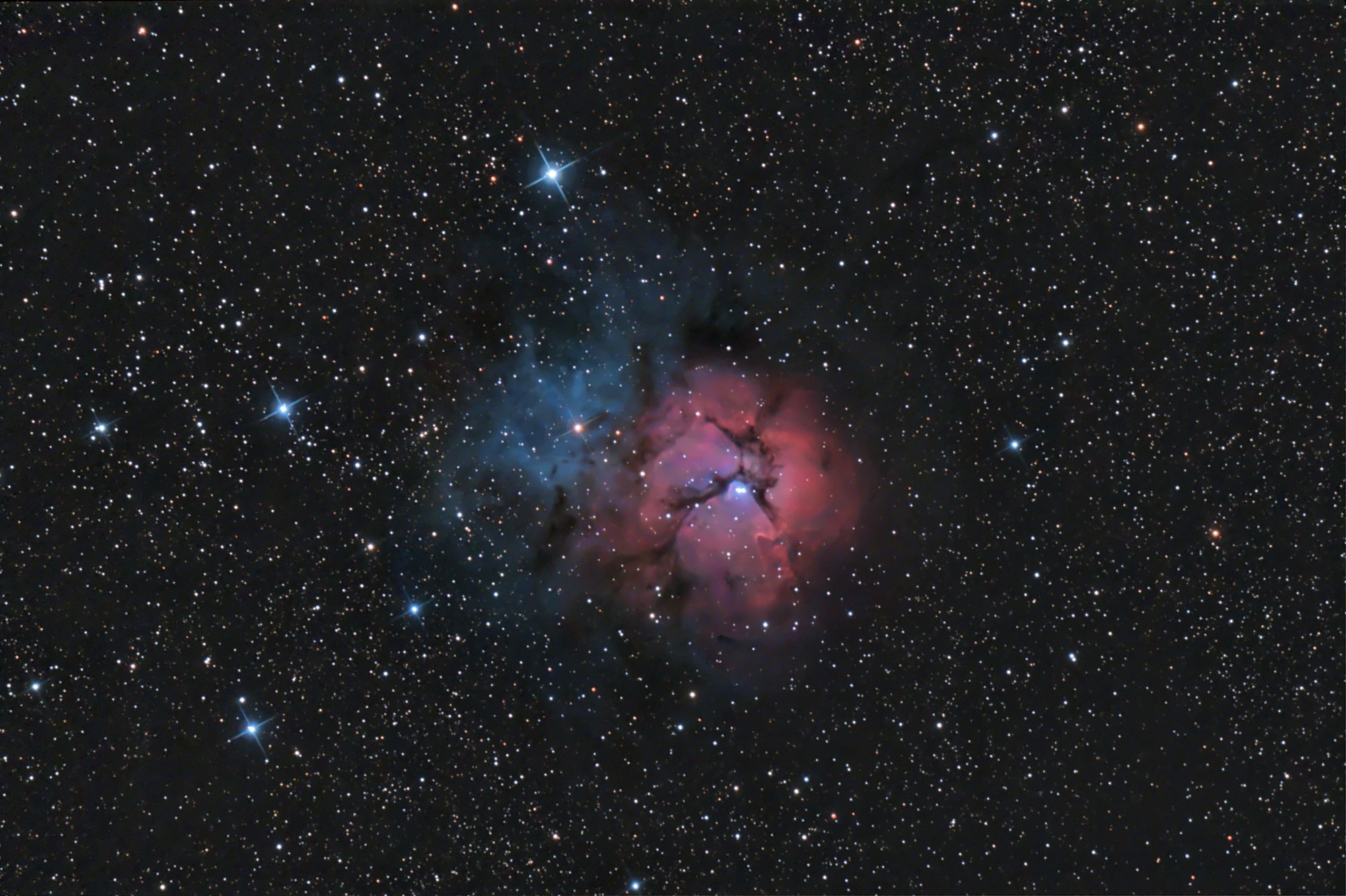M20 - The Trifid Nebula | Astronomy Pictures at Orion ...