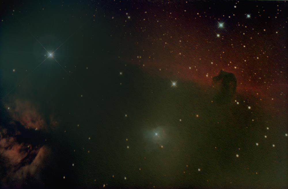NGC 2024 & IC 434- The Flame and Horsehead or the Alnitak region of Orion at Orion Store