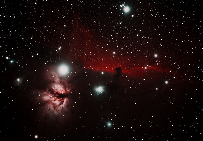 Horsehead Nebula 11-2-13 at US Store