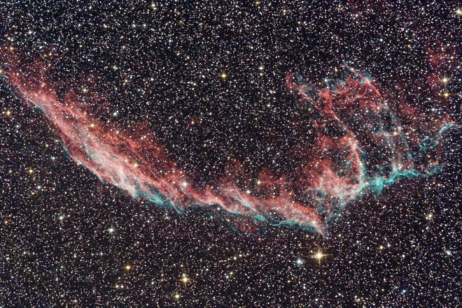 NGC 6992 - Veil Nebula, Eastern section