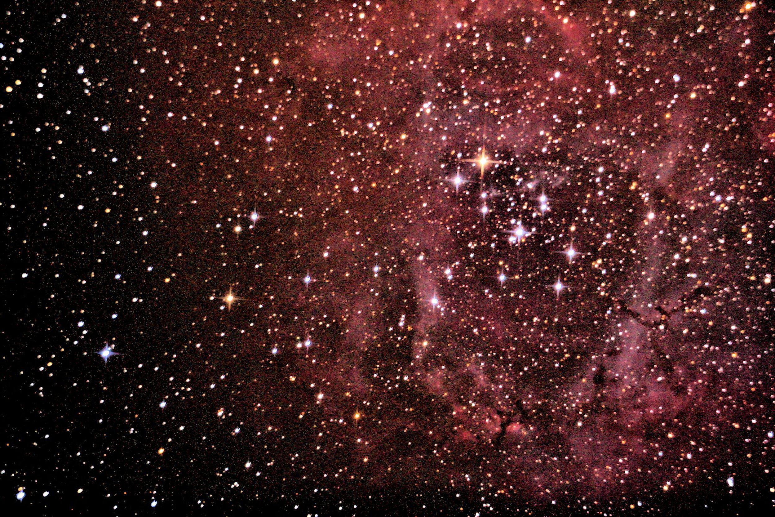 Rosette Nebula 11-28-13 at US Store