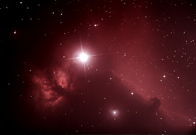 Horsehead/Flame Nebula 11-29-13 at US Store