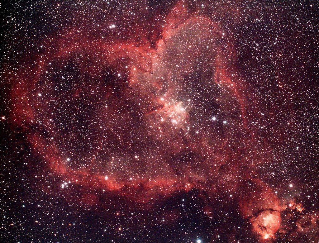 Heart Nebula (IC1805) | Astronomy Pictures at Orion Telescopes