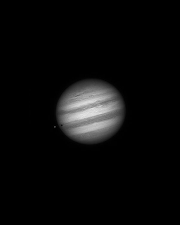 Jupiter and IO 12-26-13 at US Store