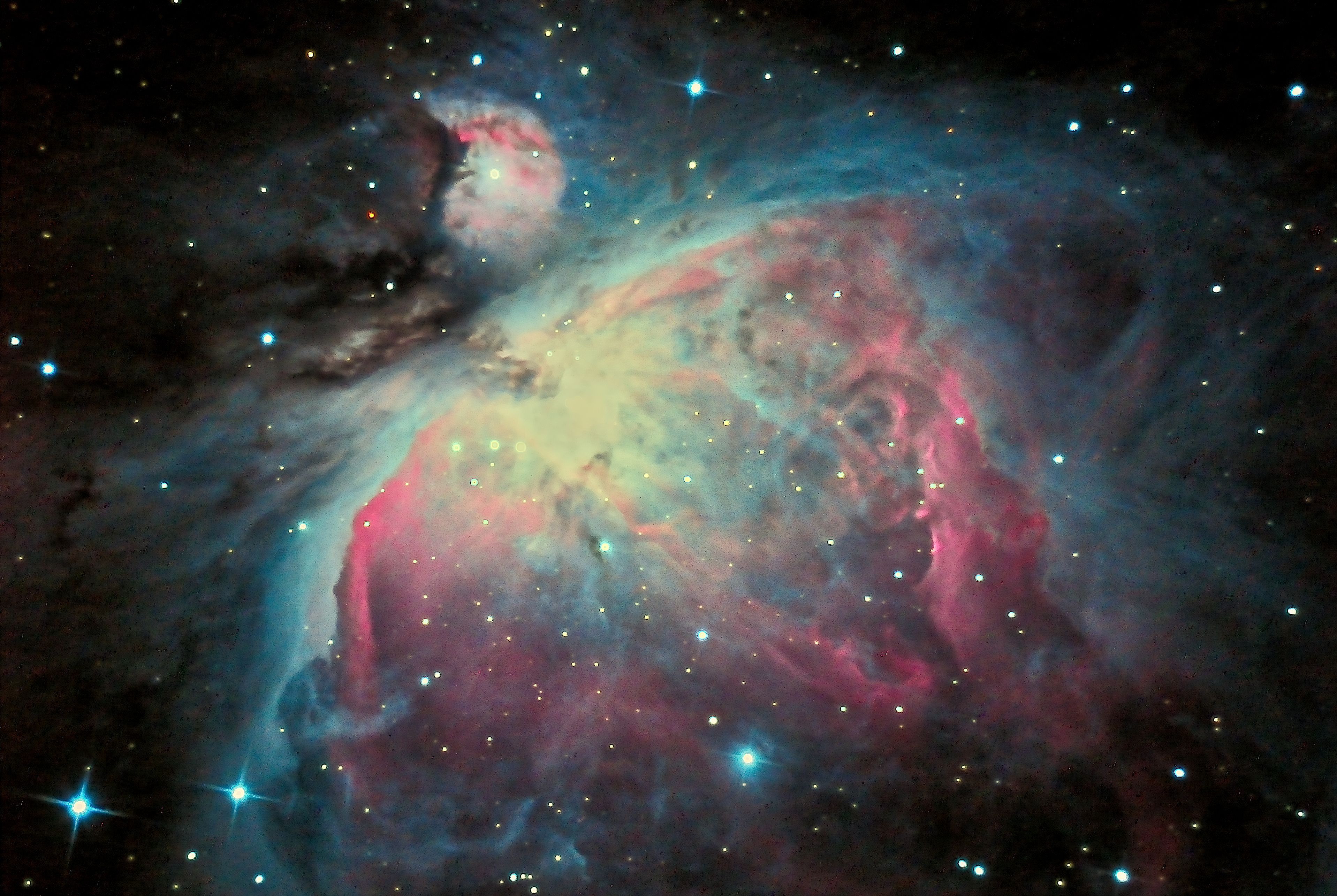 M42 - The Orion Nebula 1-4-14 at US Store