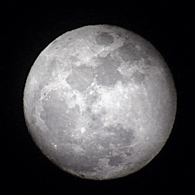 Waxing Gibbous 1-14-14 at US Store