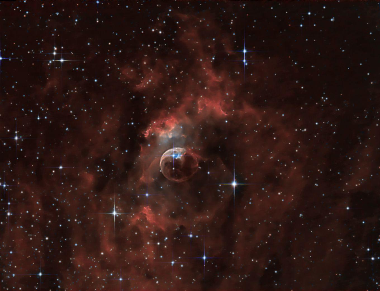 NGC7635 - Bubble Nebula
