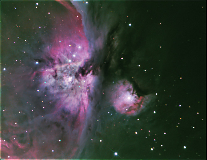 Orion Nebula 1-24-14 at US Store