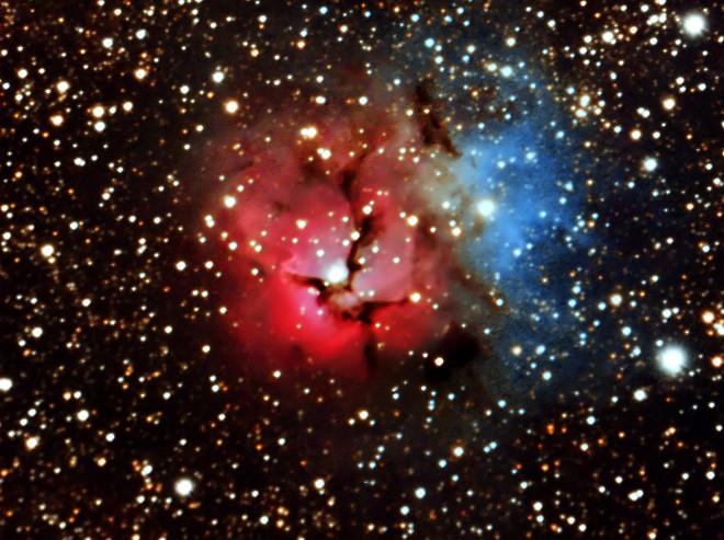 M20 Trifid Nebula, Doug Hubbell