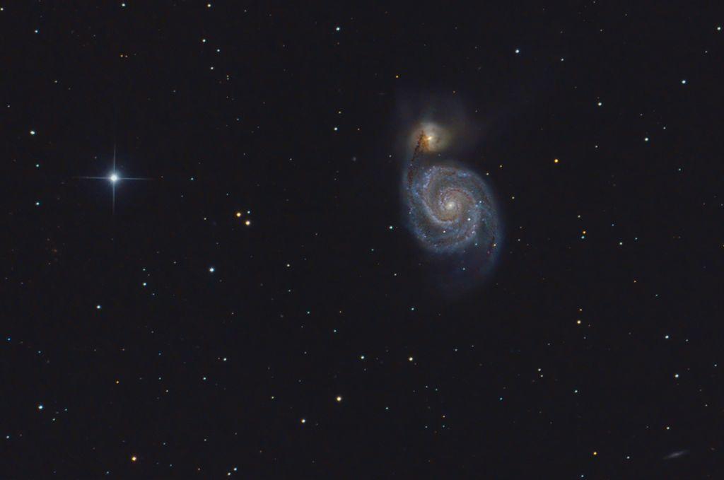 M51 - Whirlpool Galaxy
