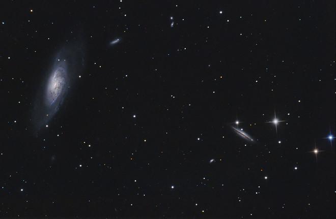 M106 - Galaxy in Canes Venatici