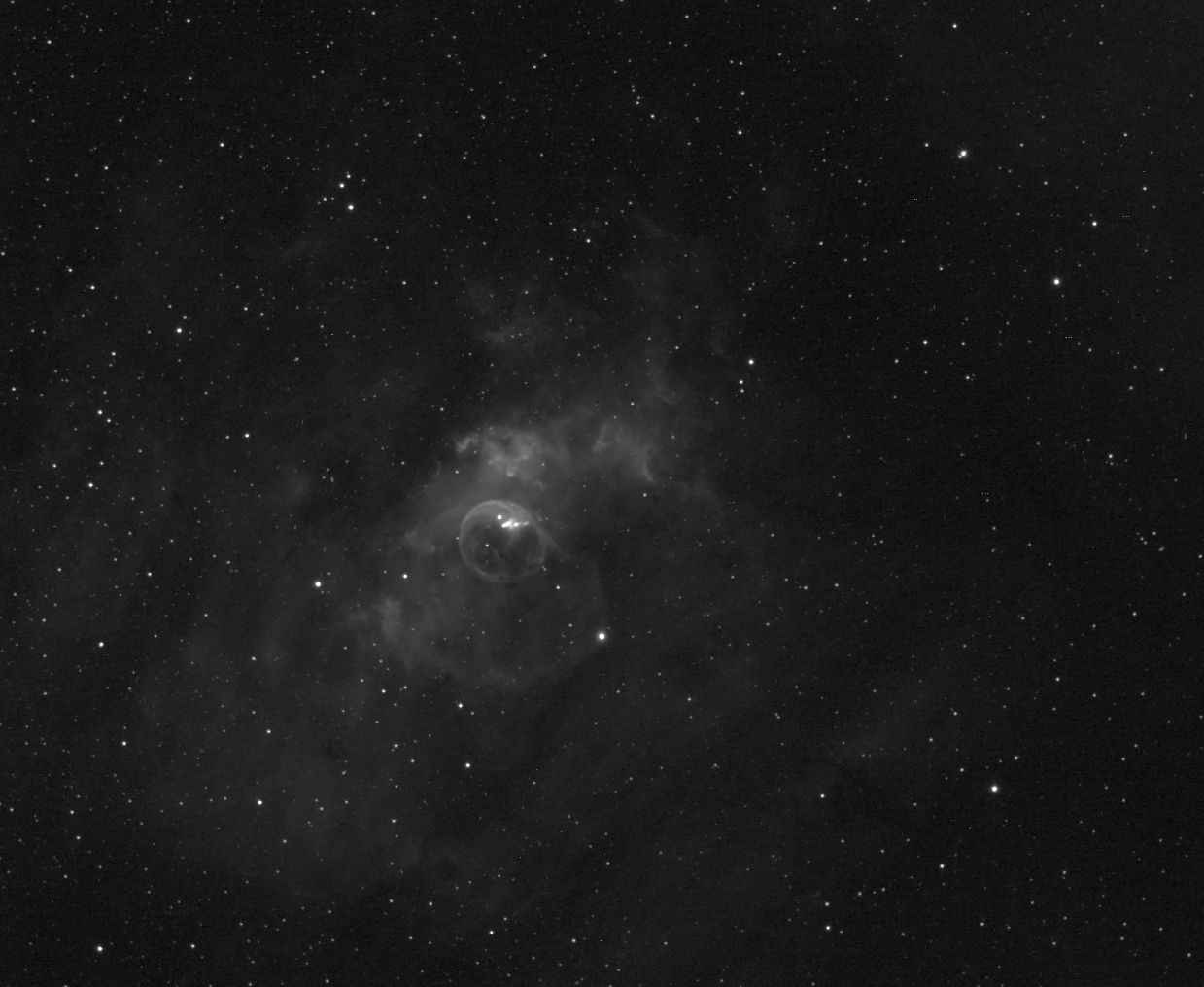 NGC 6822 - Bubble Nebula