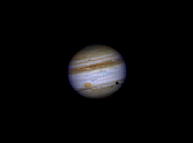 Jupiter with Ganymede Transit