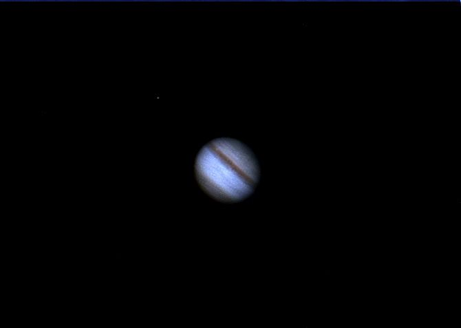 Jupiter & IO Moon
