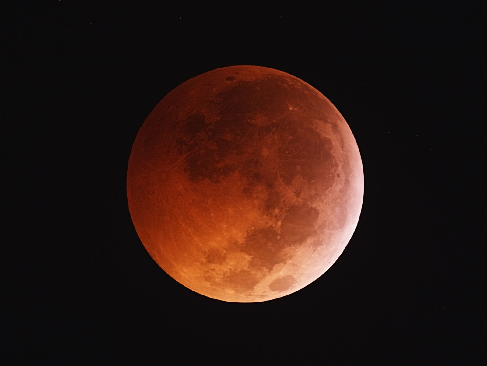 Lunar Eclipse and Occulting Star