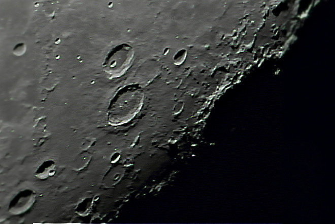 Moon - Atlas and Hercules craters