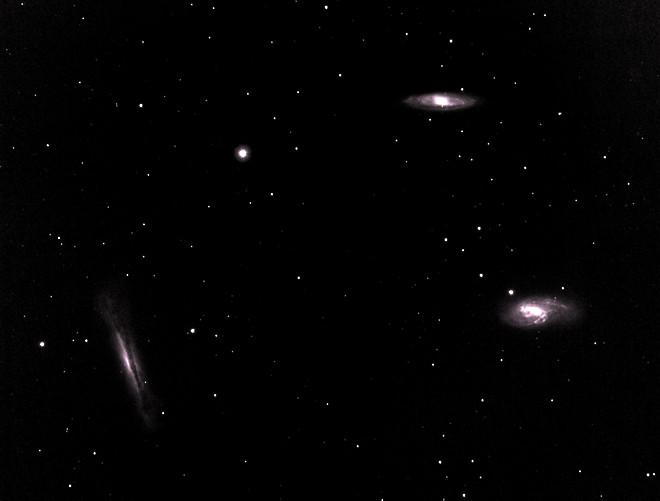 M-65, M-66, NGC-3628