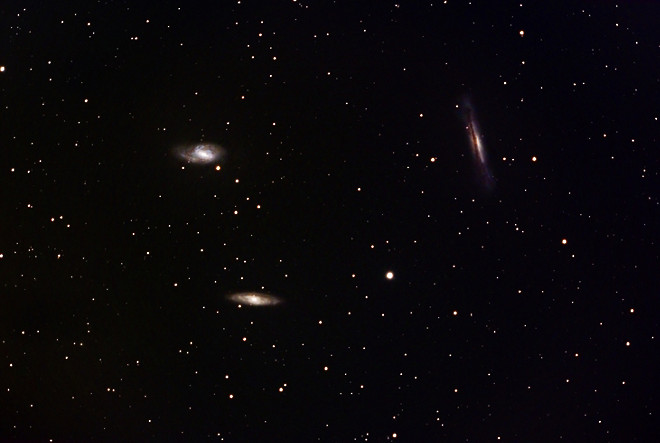The Leo Triplet (M65, M66 and NGC 3628)