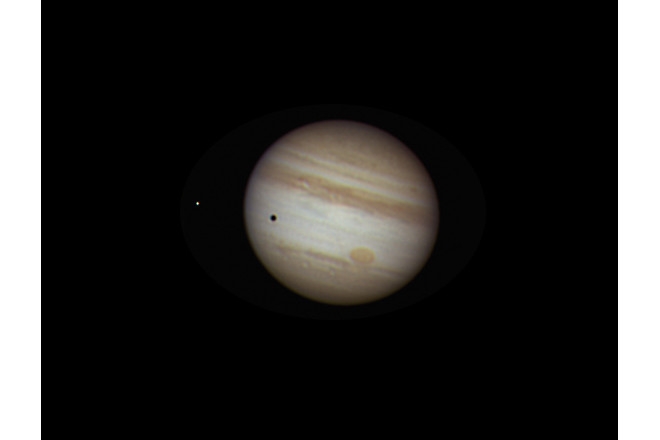 Jupiter and moon Europa