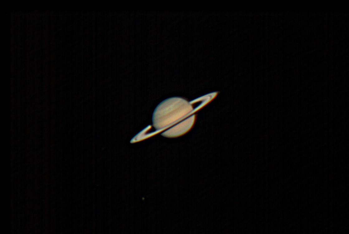 Saturn with Titan