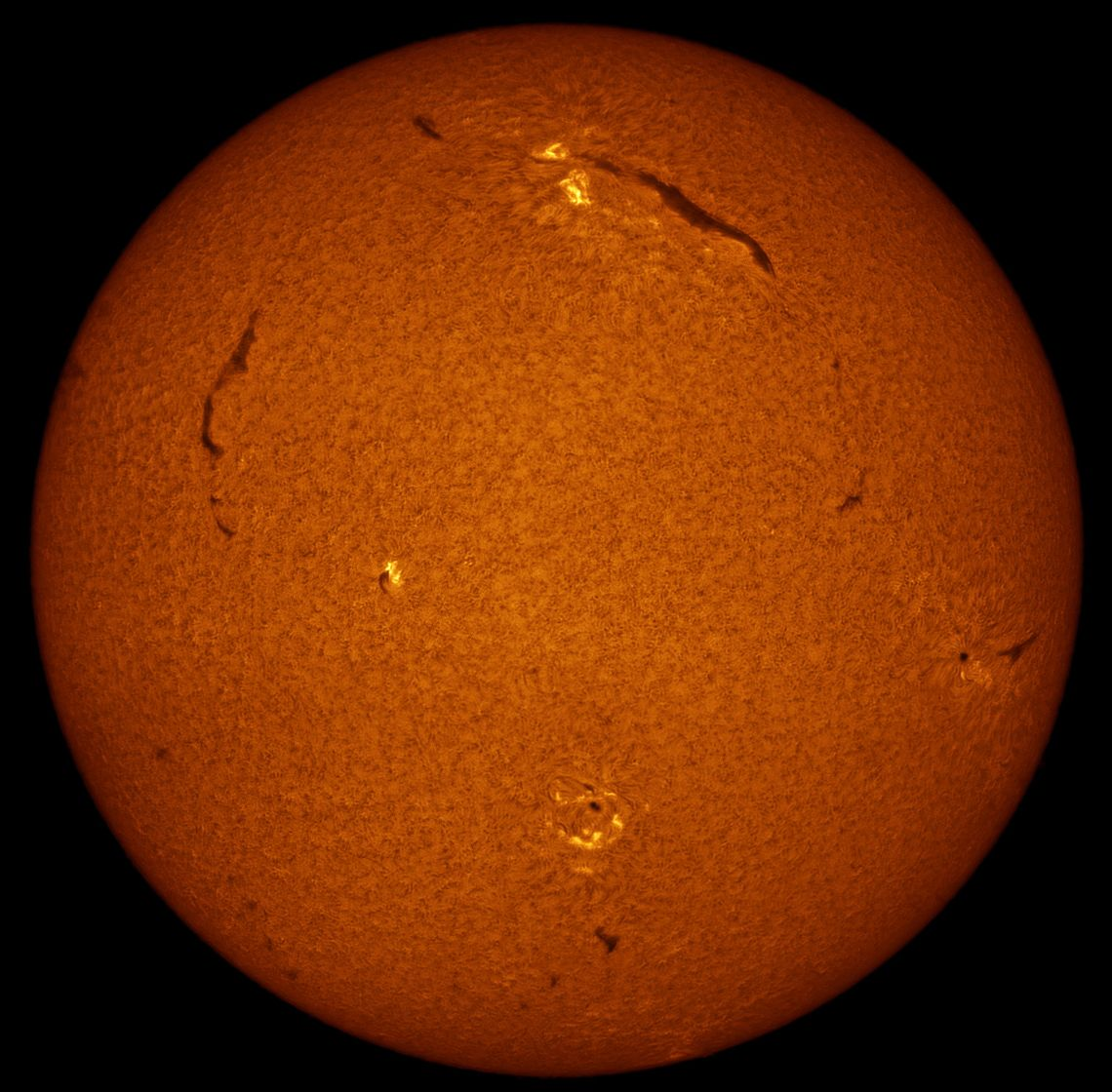 Full Solar Disc in H Alpha