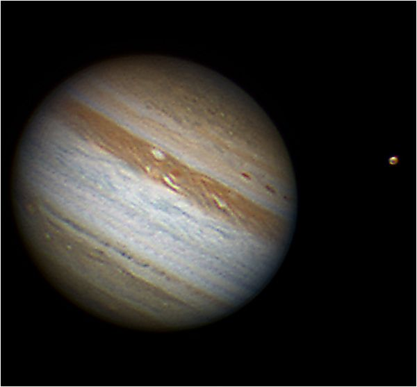 Jupiter and Callisto