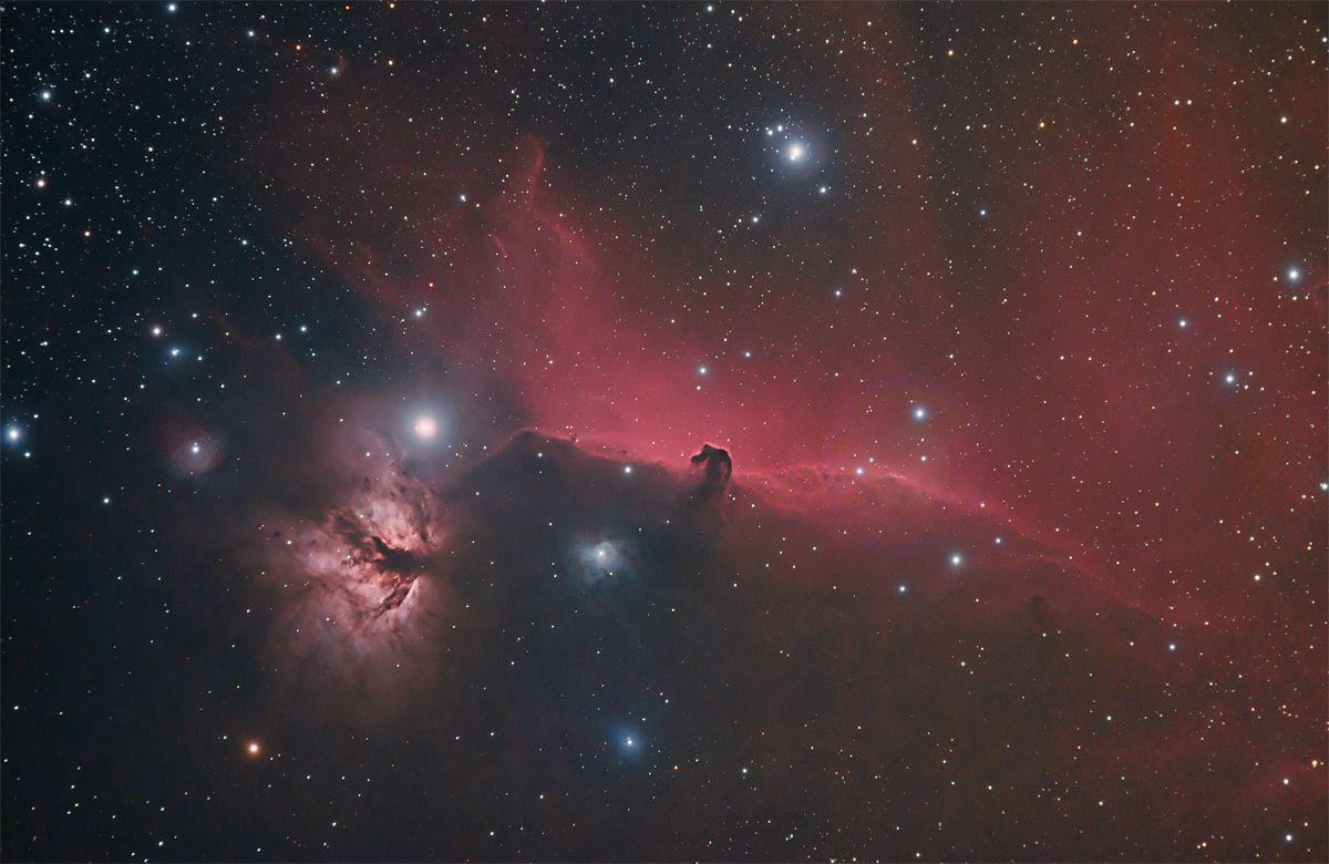Horsehead/Flame Nebulae
