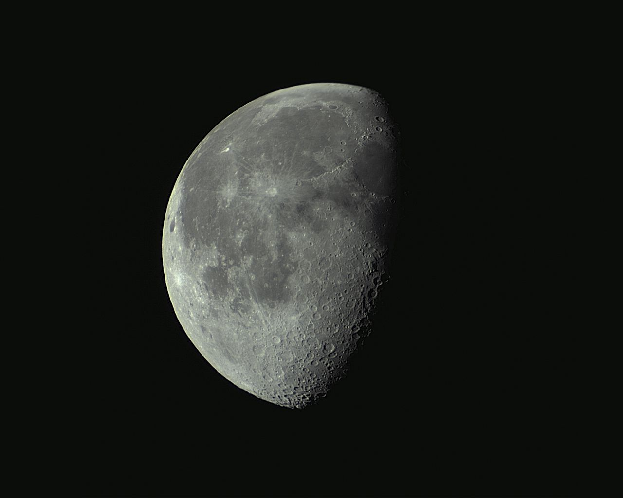 Moon 2 Days Prior to 3rd Quarter