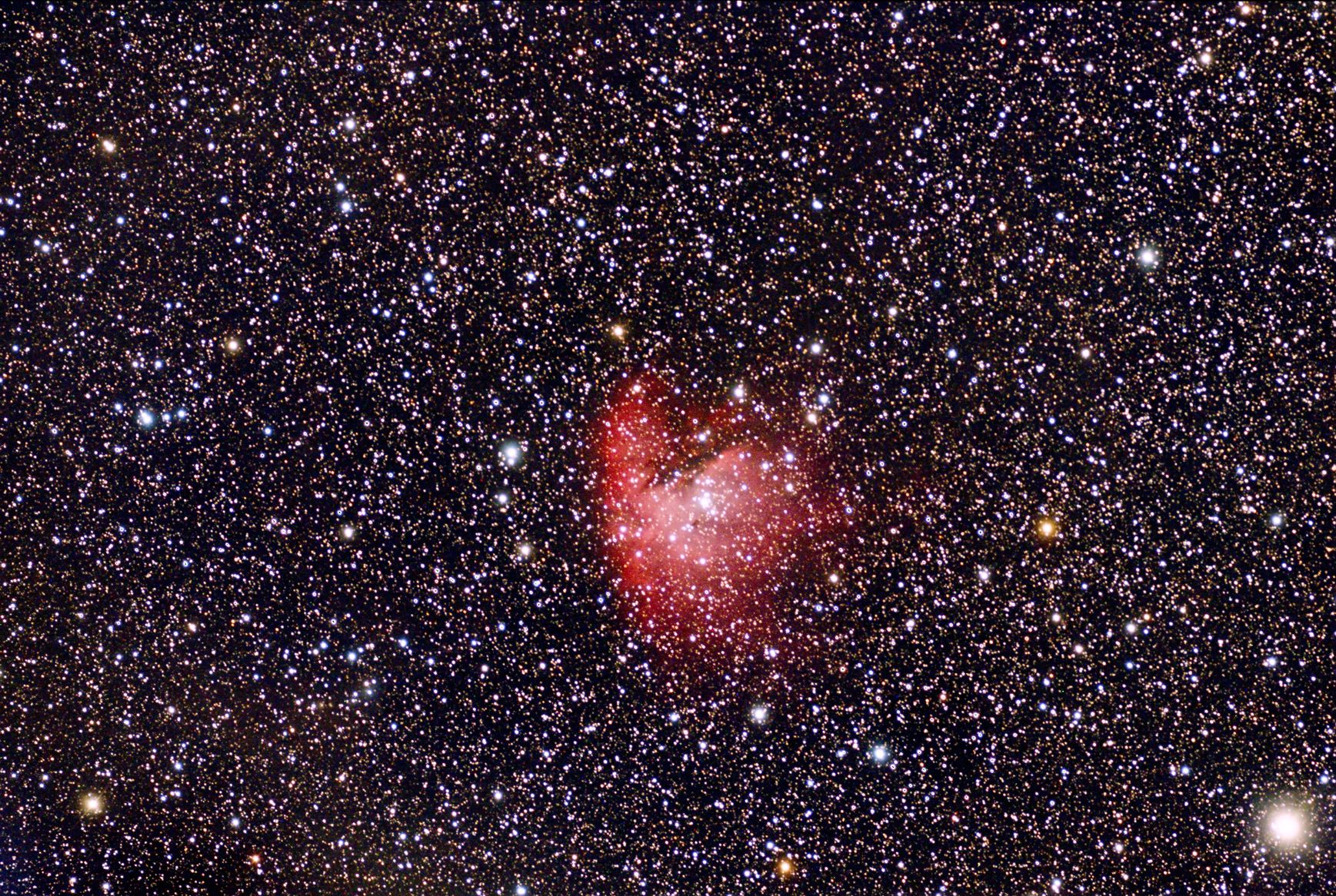 NGC281 - Pac Man nebula in Cassiopeia