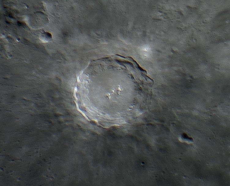 Lunar Crater Copernicus