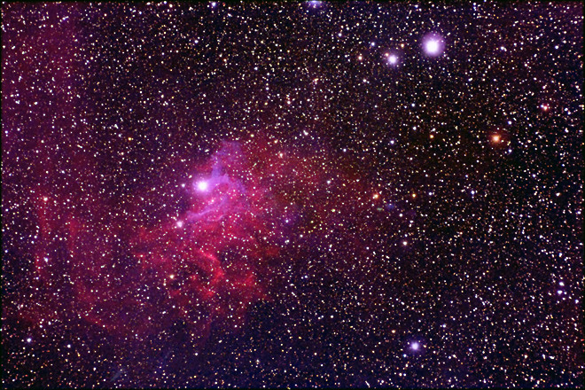 IC 405 - Flaming Star Nebula