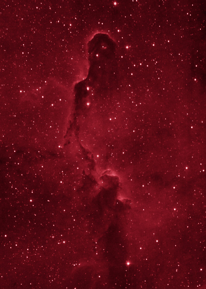 IC1396 The Elephant Trunk Nebula