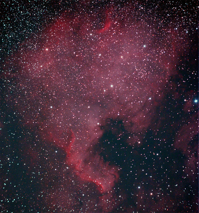 NGC 7000 - North America Nebula at US Store