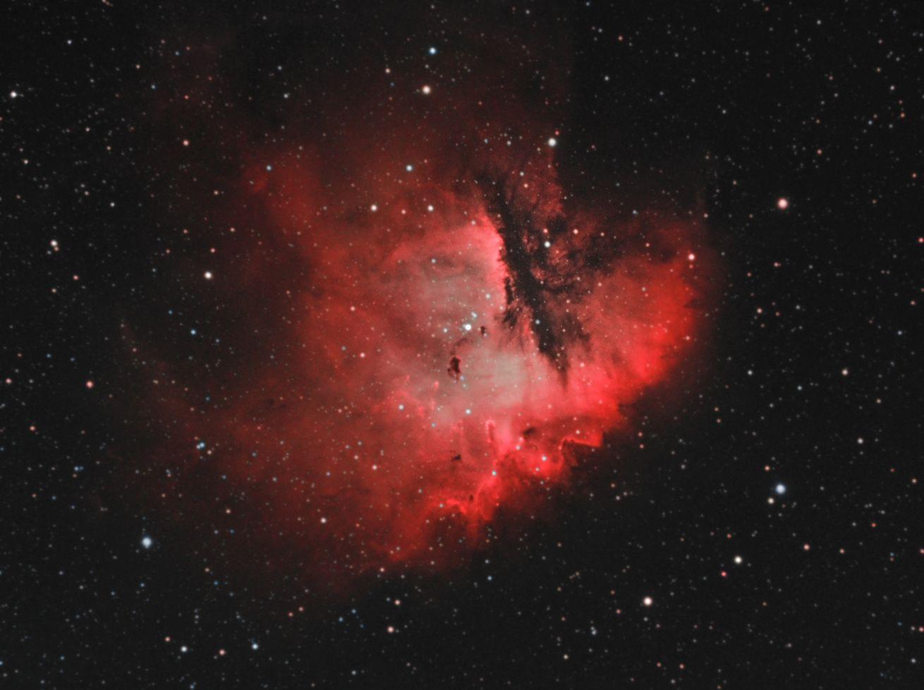 NGC 281 - The PacMan Nebula
