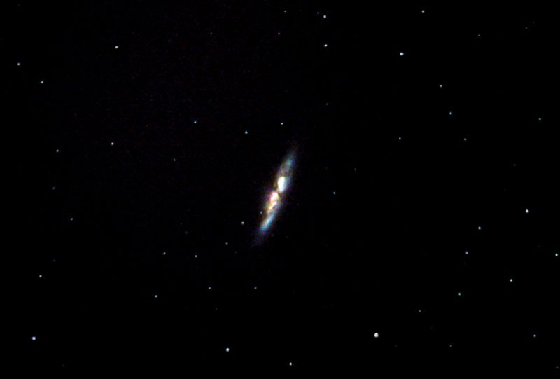 M82 (2nd of Bode's Galaxies)