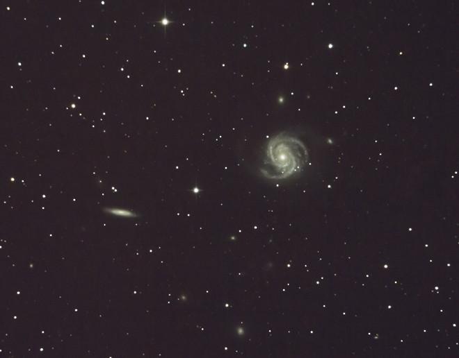M100 and NGC 4312