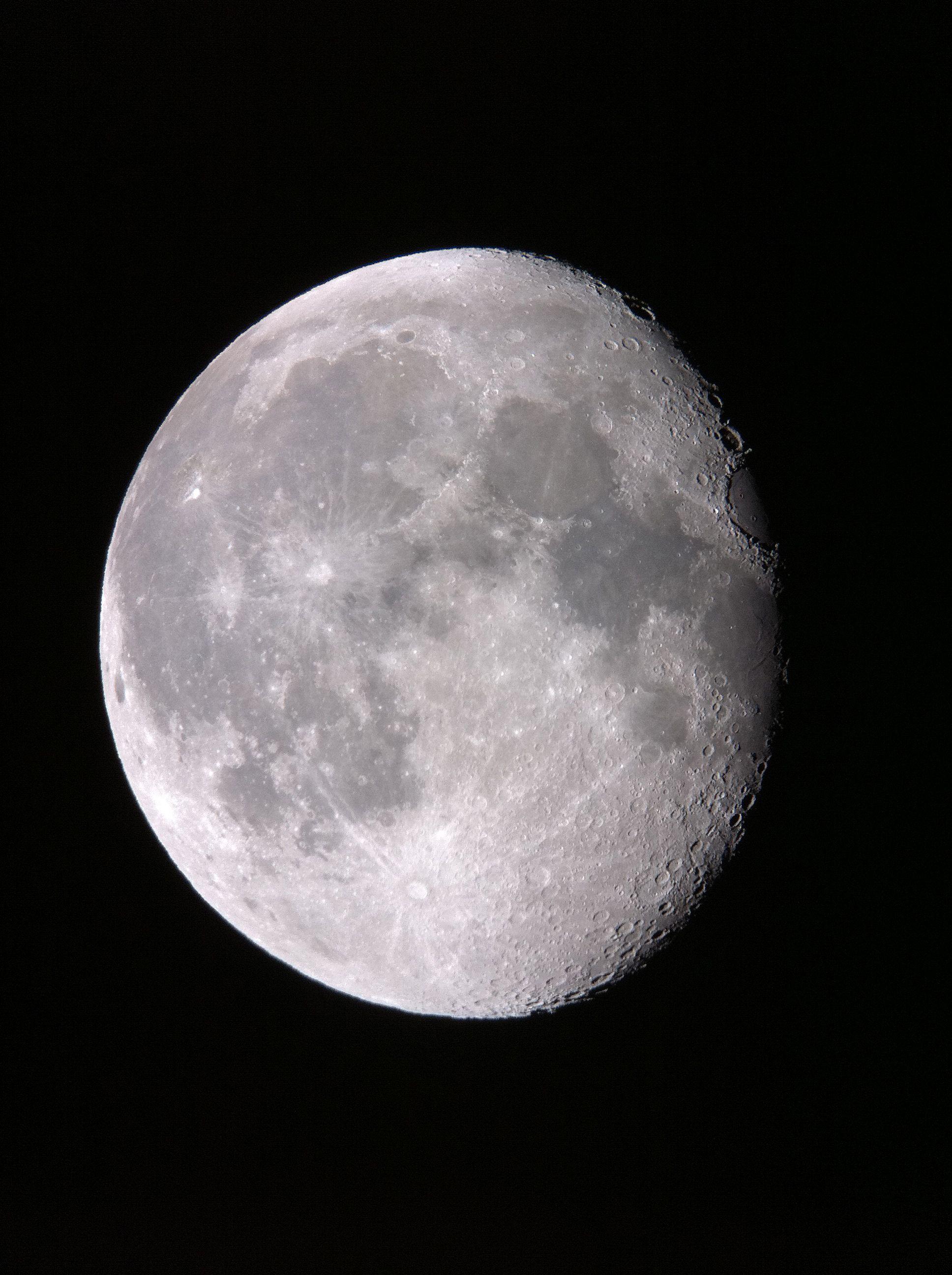 Gibbous Moon