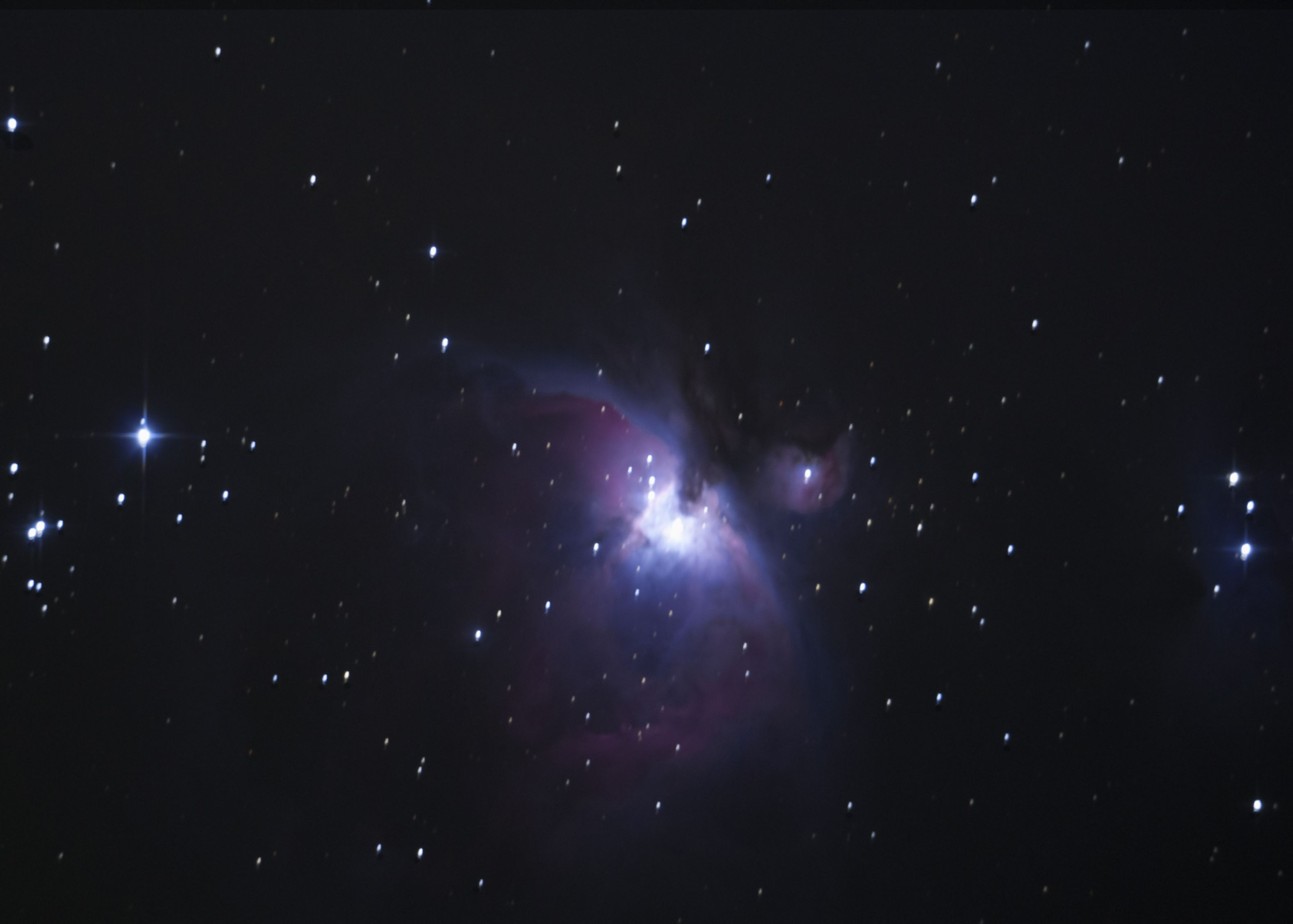 Orion Nebula (M42) with Trapezium and M43