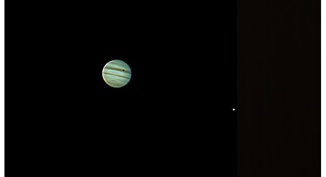 Jupiter & Io Transit with Europa at Orion Store