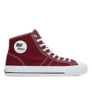 Made in USA Center Hi in Burgundy - product_grid view.