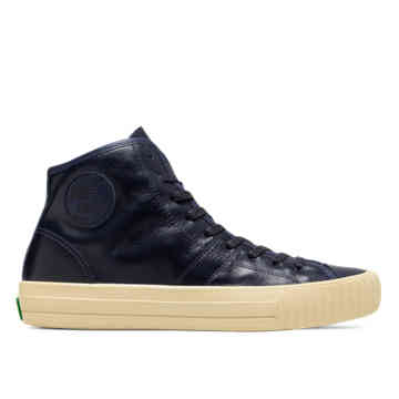 Tanner Goods Made in USA Center Hi in Navy - refresh_pgp view.