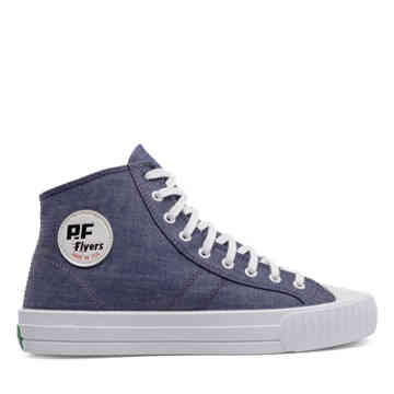 Gitman Vintage Made in USA Center Hi in Blue - refresh_pgp view.