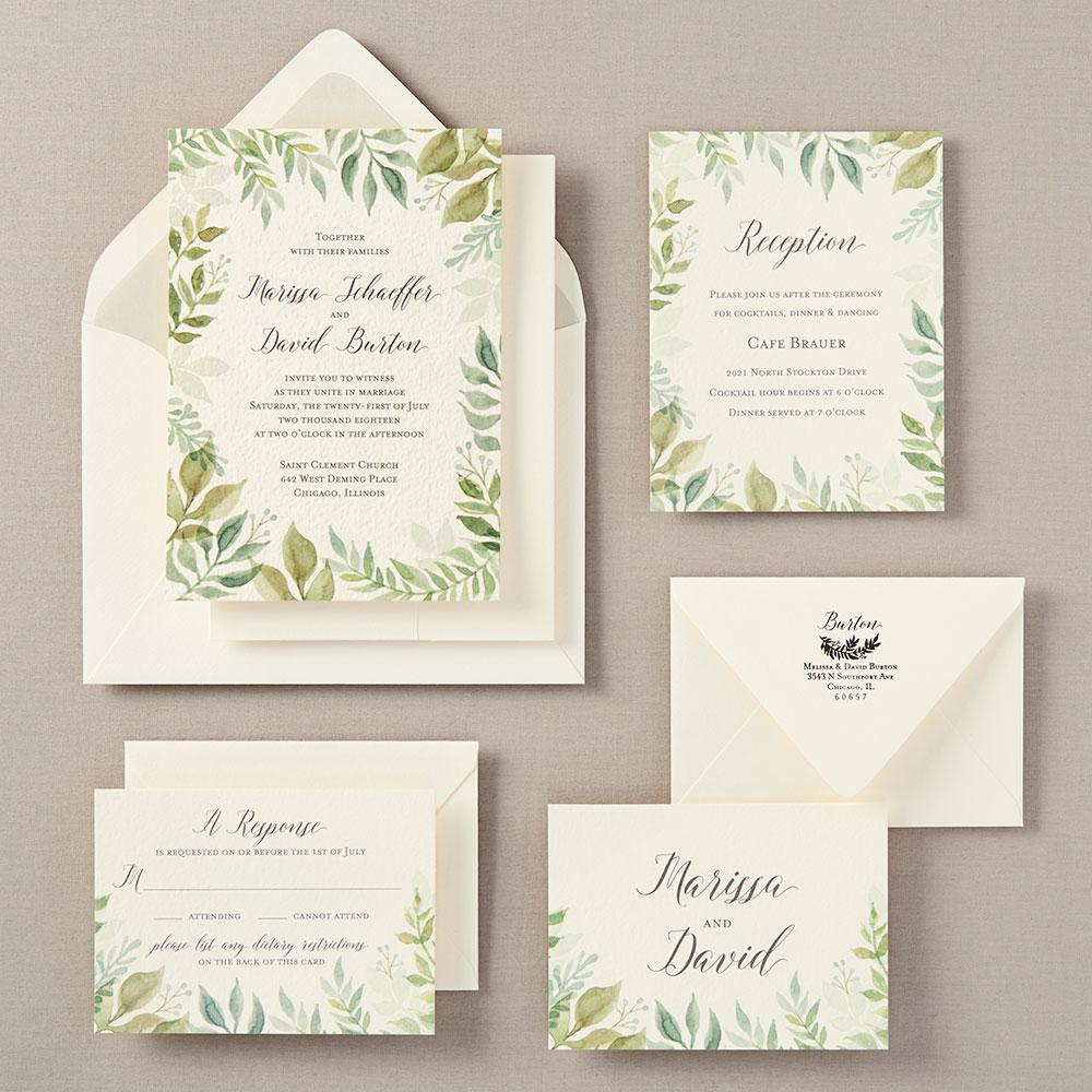 wedding invitation information inspiration paper source