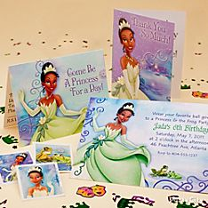 Princess and the Frog Party Invitation Ideas