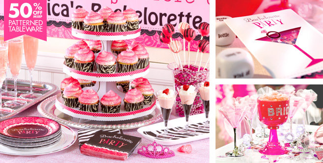 Bachelorette party supplies celebrate the bride to be with for Bachelorette party decoration ideas