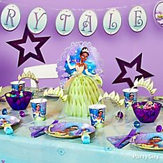 Princess and the Frog Party Decoration Ideas