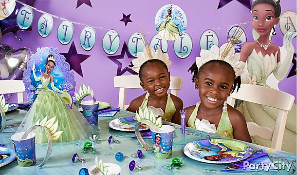 Disney Princess and the Frog Party Ideas!
