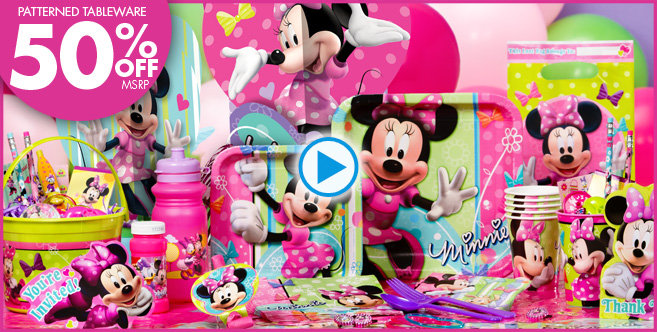 Minnie Mouse Birthday Party Supplies 657 x 332 · 113 kB · jpeg