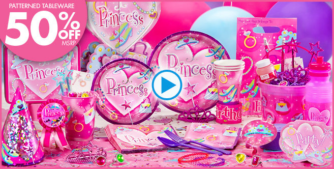Princess Party Supplies - Princess Birthday - Party City