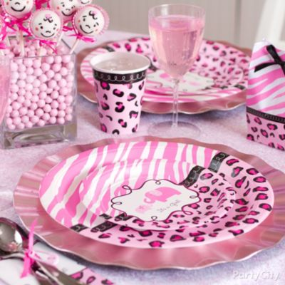 Pink Safari Baby Shower Ideas - Party City
